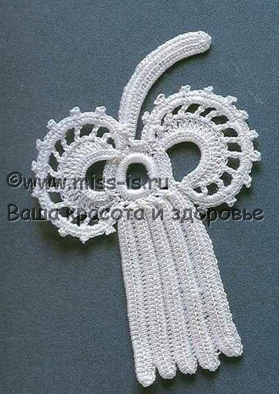 Рельефное плетение ирландского кружева