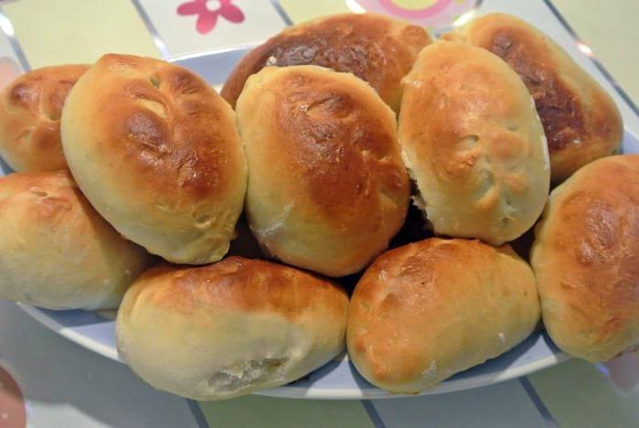 Пирожки из теста на картофельном отваре